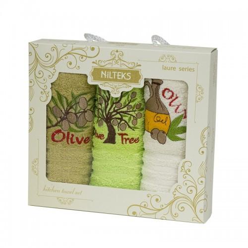 Набор полотенец кухонный Олива - 3