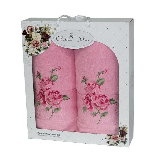 Набор полотенец подарочный Роза