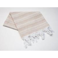 Пештемаль  полотенце для пляжа и бани линия беж