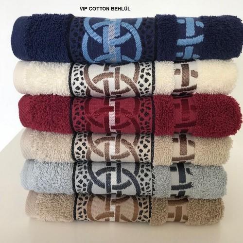 Комплект полотенец  6 шт Cestepe Vip cotton Behlul