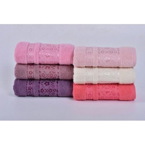 Комплект полотенец  6 шт Cestepe Vip cotton Belinay