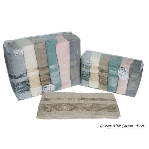 Комплект полотенец  6 шт Cestepe Vip cotton Ezel