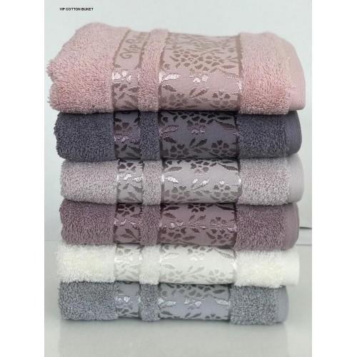Комплект полотенец  6 шт Cestepe Vip cotton Buket