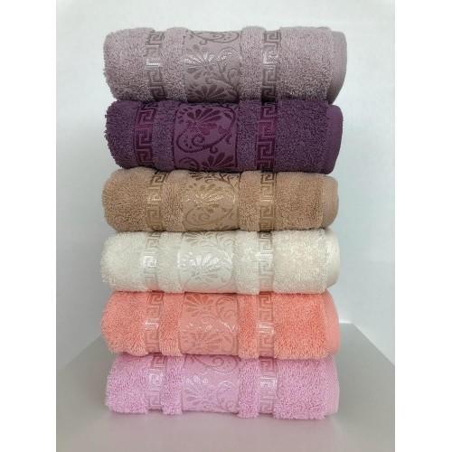 Комплект полотенец  6 шт Cestepe Vip cotton Diana