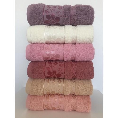 Комплект полотенец  6 шт Cestepe Vip cotton Fulya