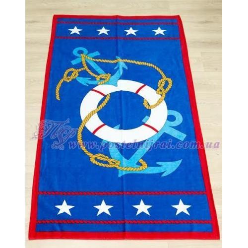 Пляжные полотенца Звездный якорь