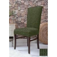 Чехлы на стулья 6 штук - зеленые