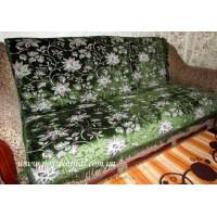 Дивандек велюровый Миледи - зеленый