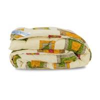 Одеяло Зима овечье в хлопке Leleka-Textile