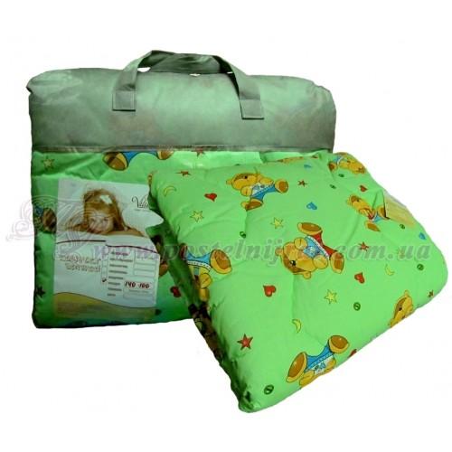 Детское одеяло из овечьей шерсти Premium