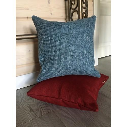 Подушка декоративна темно - сіра