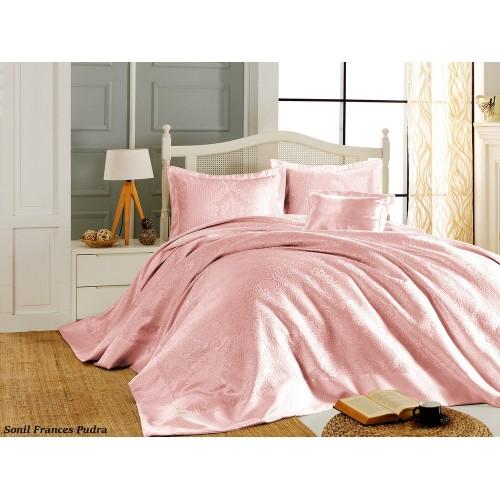 Покривало на ліжко First Choice Frances - Pudra