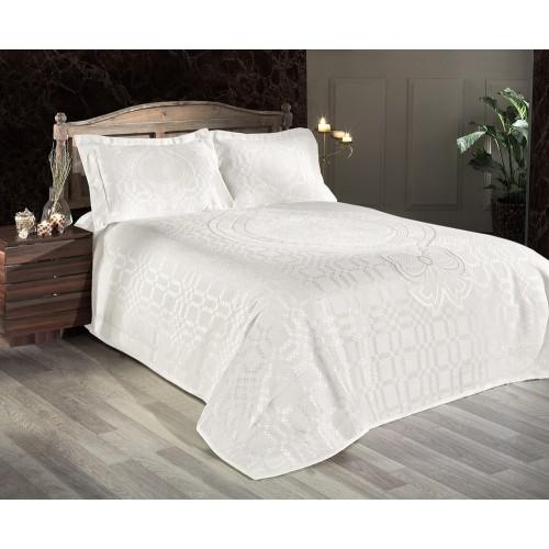 Покривало на ліжко First Choice Romas - Krem
