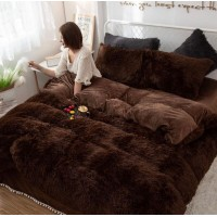 Покрывало одеяло Мишка коричневое