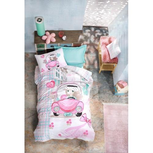 Дитячий комплект постільної білизни Cotton Box Paris Love