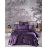 Постельное белье Ecosse страйп Mor Purple