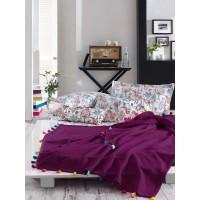 Комплект летний с покрывалом Istanbul Style Up фиолетовый