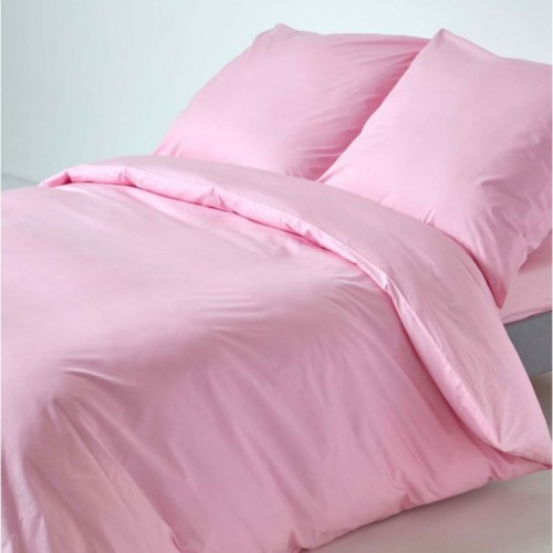 Постельное белье с простынью на резинке Meriset Розовое