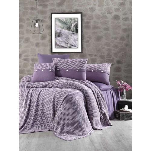 First Choice Nirvana Excellent постельное белье с вязаным покрывалом Murdum