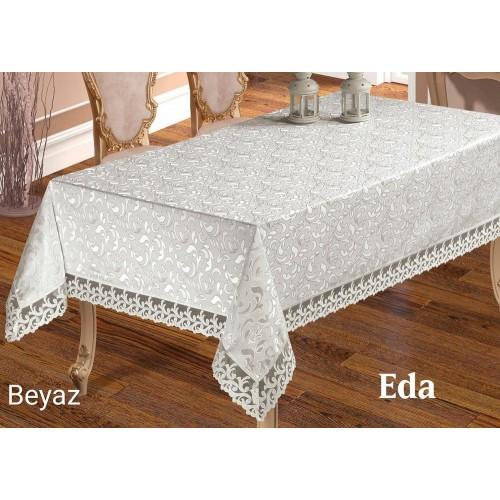 Скатерть на стол Maison Royal Eda белая