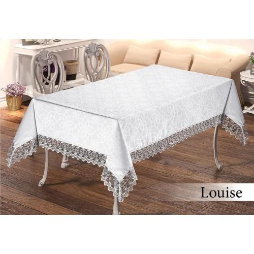 Скатерть на стол Maison Royal Louise белая