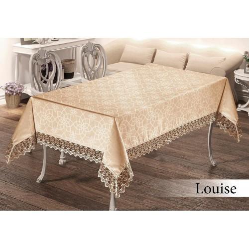 Скатерть на стол Maison Royal Louise капучино